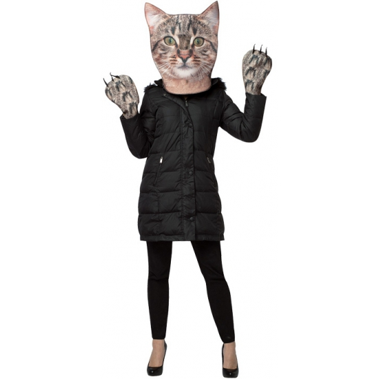 Carnaval verkleedset kat