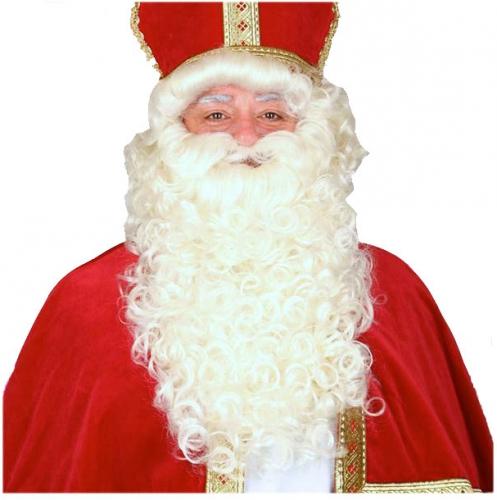 Complete Sinterklaas pruik en baardstel thumbnail