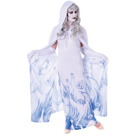 Dames verkleedkleding spook