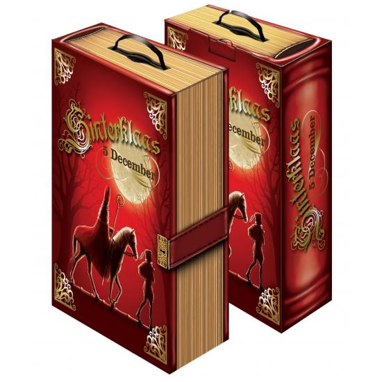 Decoratie boek van Sinterklaas thumbnail