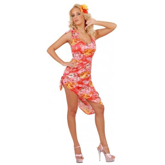 Hawaii outfit voor dames