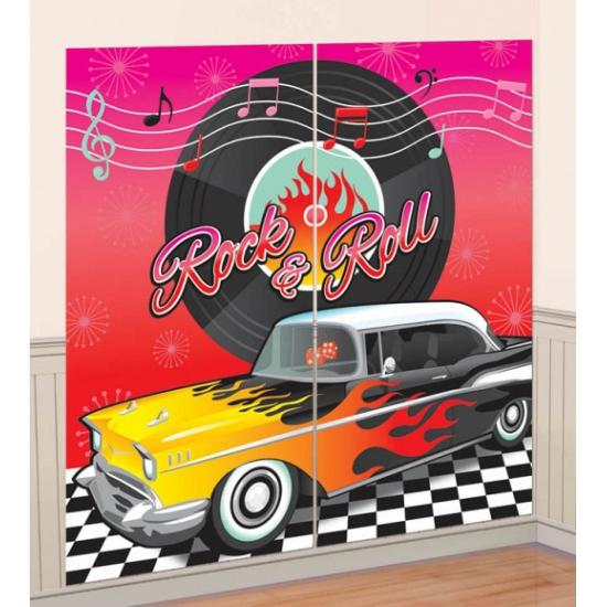 Jaren 50 Rock and Roll scenesetter