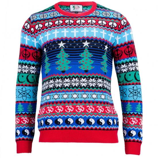 Kerstmis vrouwen trui Multicultural