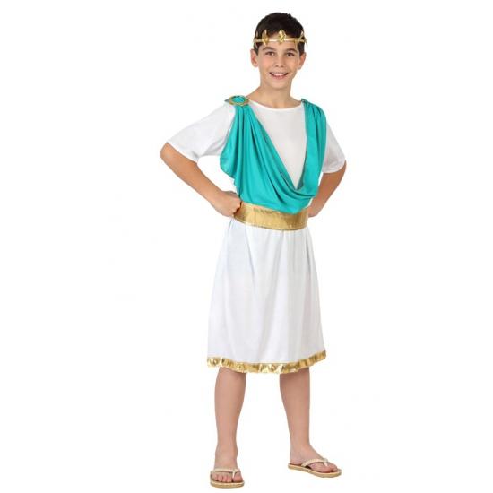 Kinder kostuum Romeinse toga