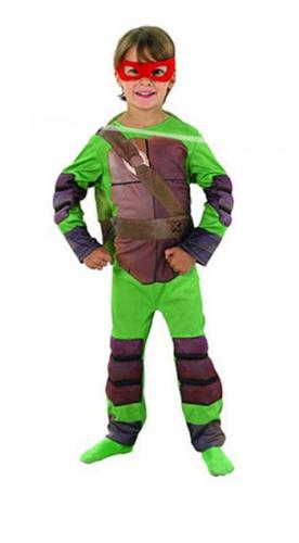 Kinder Ninja Turtle Raphael carnavalskleding