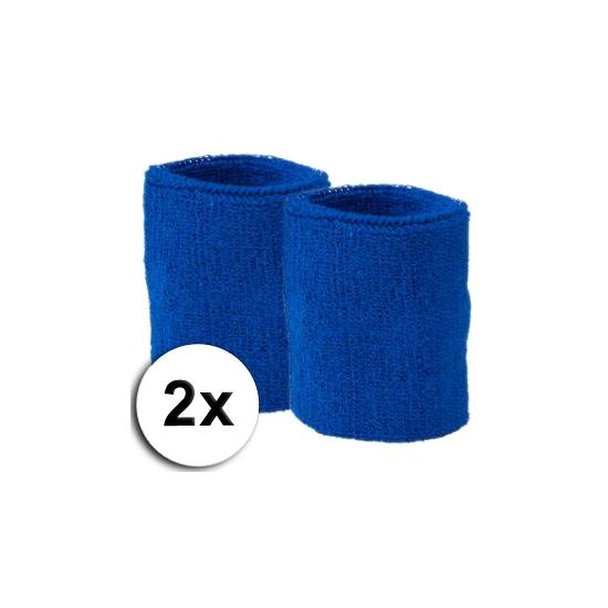 Kobalt polsbandjes 2 x