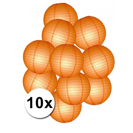 Lampion pakket oranje