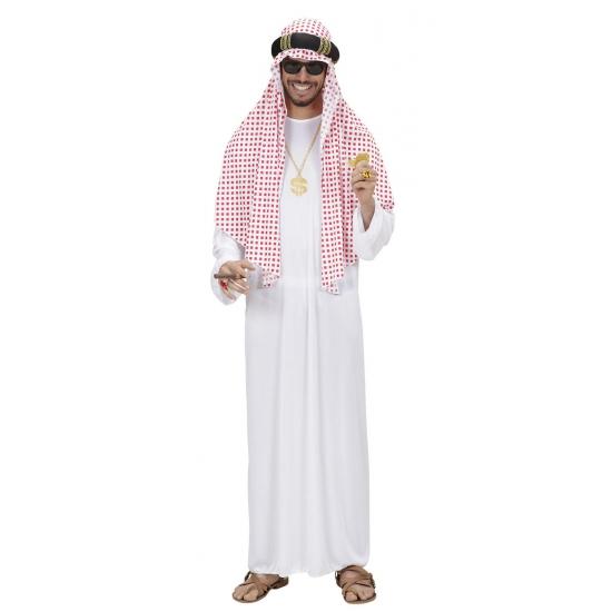 Luxe Arabieren kleding met hoofddoek