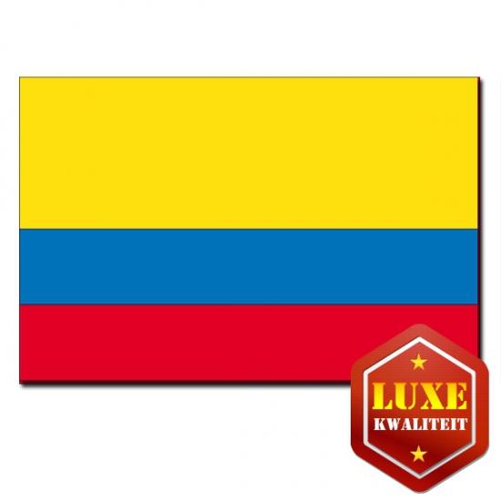 Luxe vlag Ecuador zonder wapen