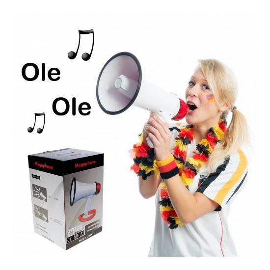 Ole ole megafoons