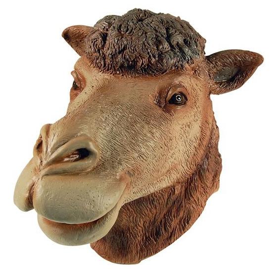 Rubberen luxe kamelen masker