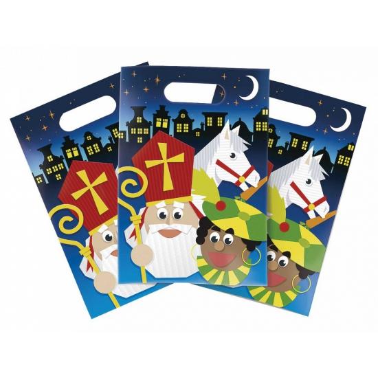 Sinterklaas feestzakjes 6 stuks thumbnail
