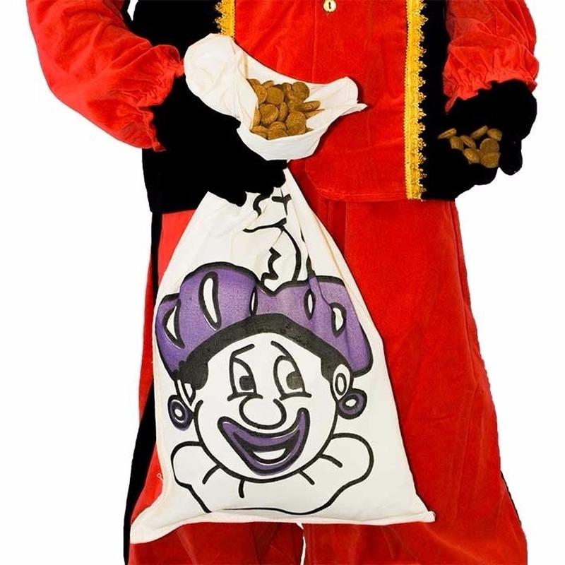 Sinterklaas Pieten strooizak katoen thumbnail