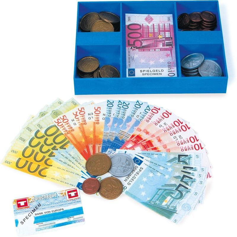 190295378Speelgoed kassa casette met geld