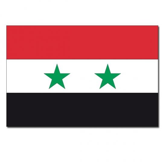 Syrische landen vlag