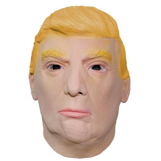 Trump latex masker President Amerika