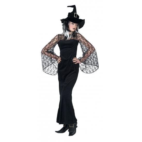 Verkleedkleding Diva heksen jurk