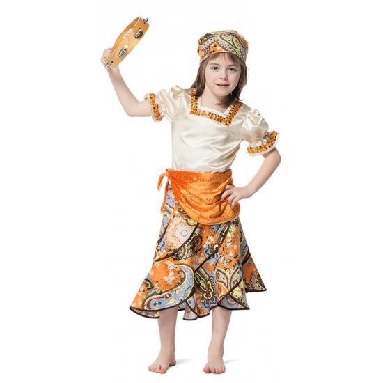 Verkleedkleding Zigeuner kostuum voor meisjes