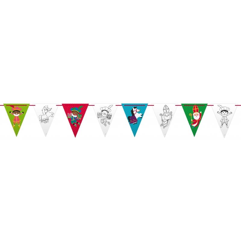 Vlaggenlijn Sinterklaas smile 6 meter thumbnail