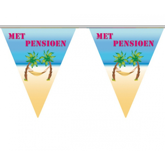 Vut vlaggenlijn Met pensioen