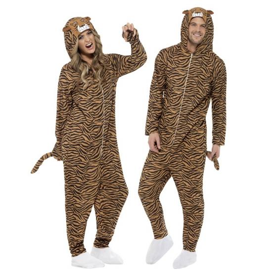 Winter huispakken tijger voor volwassenen