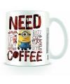 Mok Minions need coffee