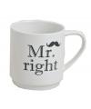 Kerstkado mok Mr. Right