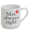 Sinterklaas kado mok Mrs Always Right
