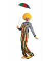 Carnaval kleuren verkleedkleding