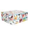 3x Disney inpakpapier Mickey Mouse blauw 200 x 70 cm op rol