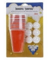 Beer Pong set 24 delig