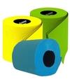 Gekleurde wc papier pakket type E