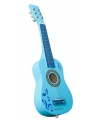 Kinder gitaar blauw 60 x 19 x 5.5 cm