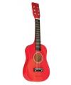Kinder gitaar rood 60 x 19 x 5.5 cm