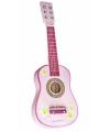 Kinder gitaar roze 60 x 19 x 5.5 cm