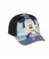 Mickey Mouse petje blauw