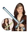 Opblaasbaar laser zwaard blauw 69 cm
