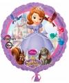 Prinsesje Sofia folie ballon met helium