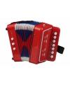 Speelgoed muziekinstrument accordeon