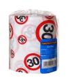 Toiletpapier voor een 30 jarige