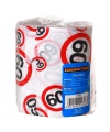 Toiletpapier voor een 60 jarige