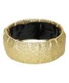Verkleed Gouden glitter armband
