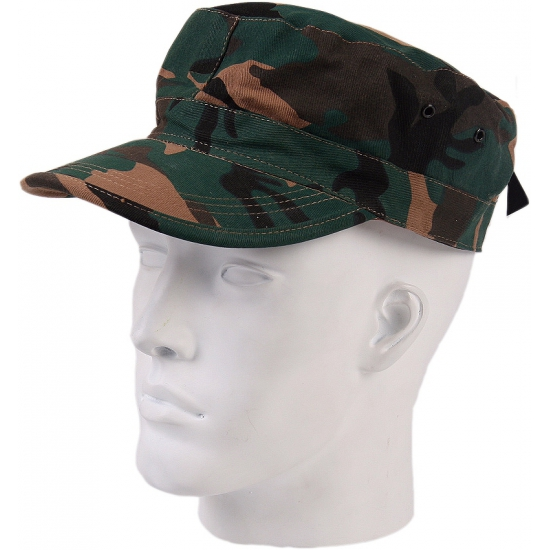 Camouflage army cap  Woodland