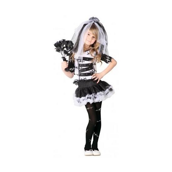 Carnavalskleding meisjes zombie jurk