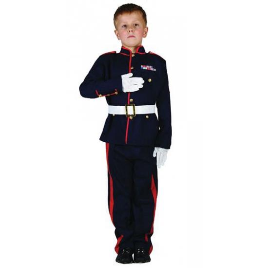 Ceremonieel soldaten kostuum voor jongens