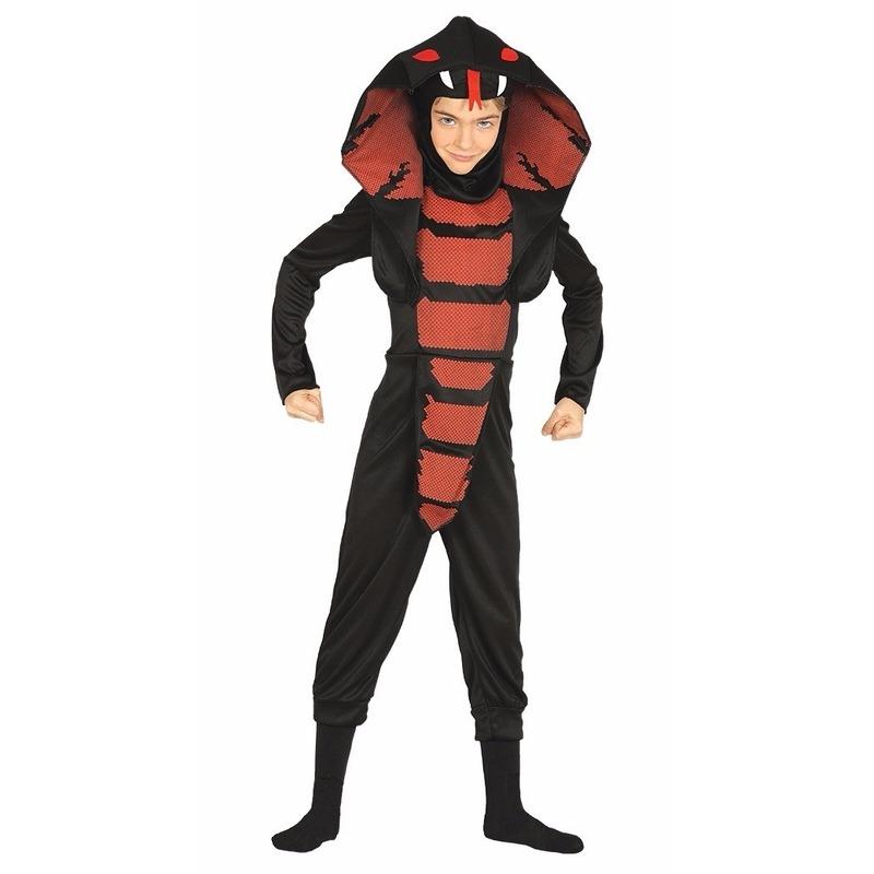 Cobra ninja slangen kostuum voor jongens