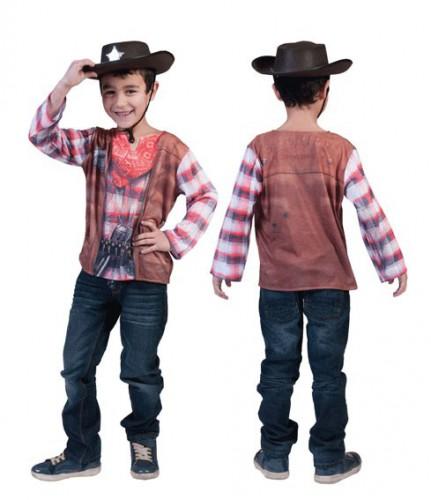 Cowboyshirt 3d opdruk