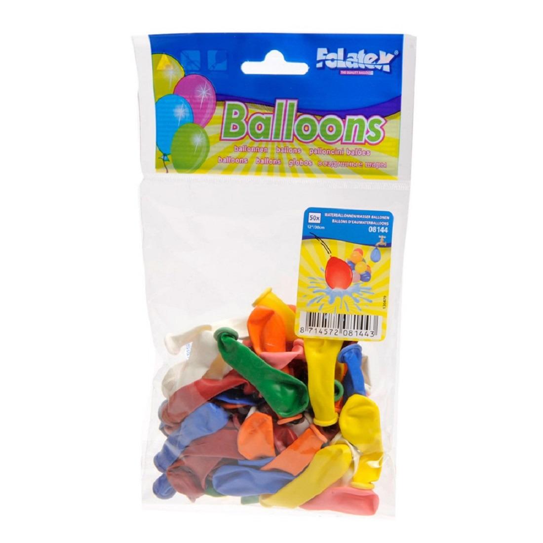 Gekleurde water ballonnen 50 st