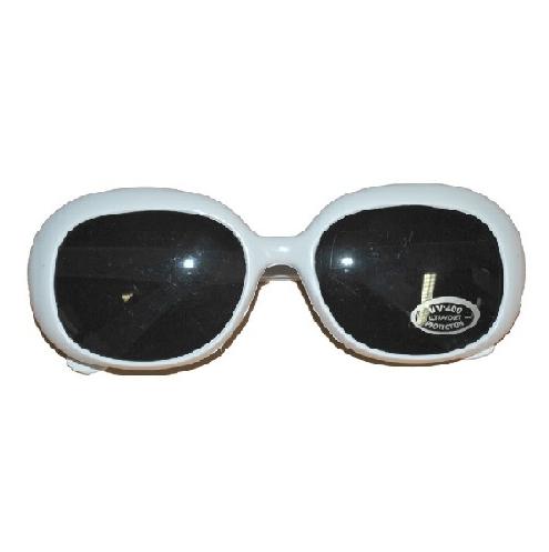 Hippie zonnebril wit