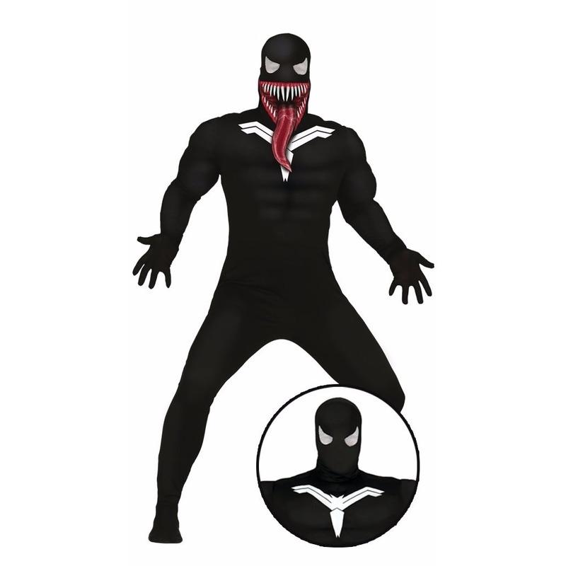 Horror donkere superheld kostuum